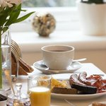 Choose from a full Scottish breakfast or Continental at The Ness Guest House, Inverness