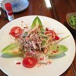 crab salad, delicious