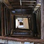 Hoistway over several floors