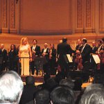 Michelle de Young and the Boston Symphony Orchestra