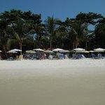 Bild på resorten (Premier Seaside-delen) från havet