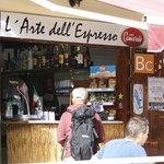 L'Arte dell'Espresso...davvero appropriato!