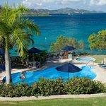 Pool, jacuzzi, sundecks and ocean