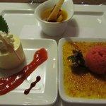 Dessert, Abschluss eines hervorragenden Menues