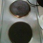 les plaques de cuisson