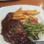 the steak i had