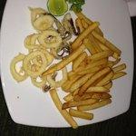 piatto di calamari fritti( presa in giro)