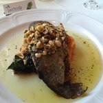Trout with Hazelnuts