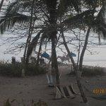 beach view from villa 1 . where's Talo?