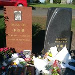 Bruce's and Brandon's graves