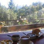 Vista desde el desayuno