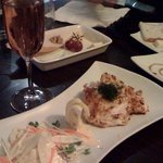 Chandon Rose Sparkling Wine and Chicken Schnitzel 'Small Plate'