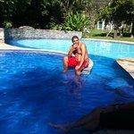 piscina refrescante