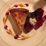 Gorgonzola Cheese Tart - sensational