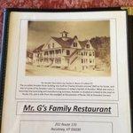 Mr G's Restaurant Foto