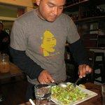 Salat: erklärt und zubereitet am Tisch! Ein Muß!