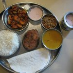 Surmai Fish thali / King fish meal