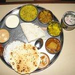 Veg Thali / Veg meal