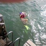 Mergulho com todo equipamento na pousada, sem nenhum custo.
