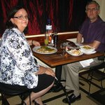 A romantic dinner at the Bistro Lyonnais