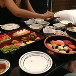 good quality and variety of japanese food