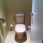 WC estilo avión