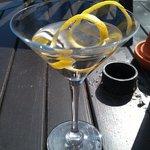 Fab Martini cocktail
