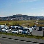 Rhos-on-Sea Golf Club has it's own car park!