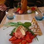 desserts très raffiné, d'une grande qualité gustative