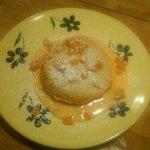 Warm Mascapone Bread Pudding