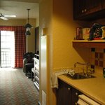 Room 3538, looking from kitchenette into main room
