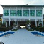Main building's reception/lobby