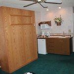 Room 216 w/ murphy bed
