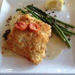crusted haddock