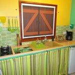 Cuisine bungalow Bambou