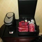 In-room coffee wasn't that bad!