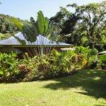 Vue bungalow dont on a oublié le nom (barbade ?)