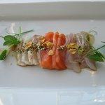 sashimi entree