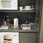 very little kitchenette(?)