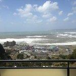 View from my 9th floor room balcony @ Kamogawa Hills Resort
