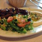 Lamb kabob plate