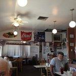old diner decor.