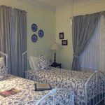 The cozy Bluebonnet Room