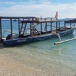 Local dive boat