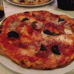 con Buffala with prosciutto