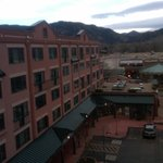 View of Hotel Front from Concierge floor