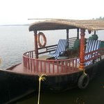 Shikaara for Backwaters ride....provided by hotel