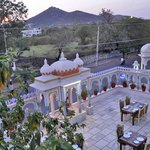 View Nimuch Mata from Room