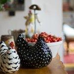 Les Poules - de la cuisine -