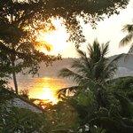 sunrise from villa 801